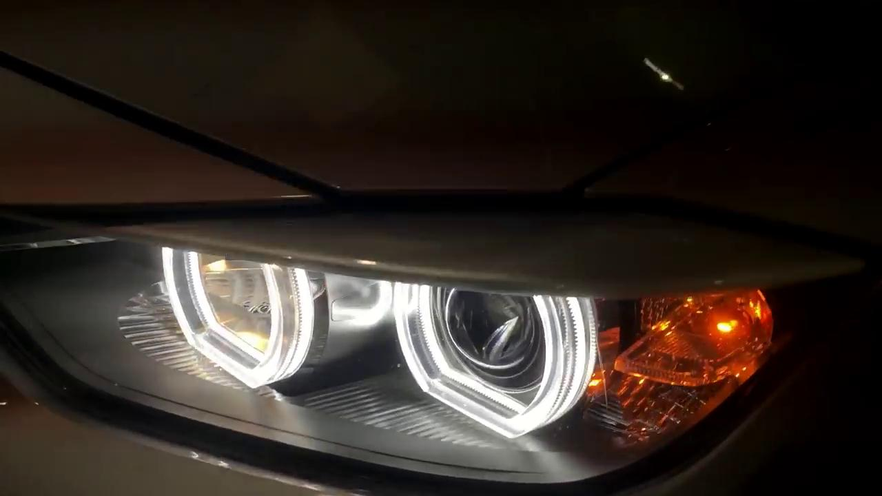The BMW Factory Bulb to Bi-xenon Projector Conversion Review
