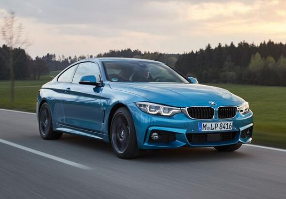 The new BMW 4 Series has been hunted carrying a huge front grille
