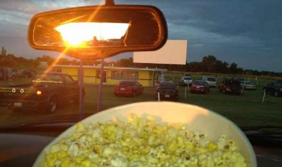 drive in the summer
